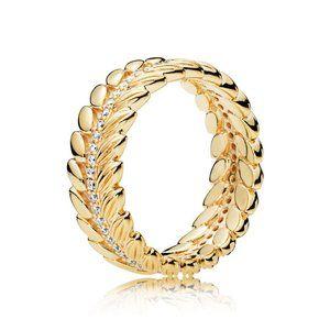 Pandora Golden Rice Paddy Ring